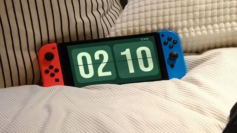 Nintendo Switch krijgt een klok app en die kost 9,99 euro