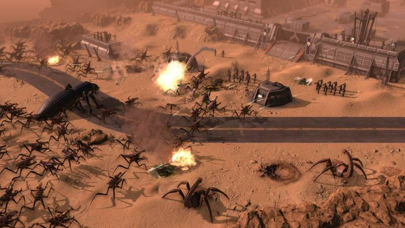 Starship Troopers RTS-game toont één uur gameplay, gratis demo beschikbaar