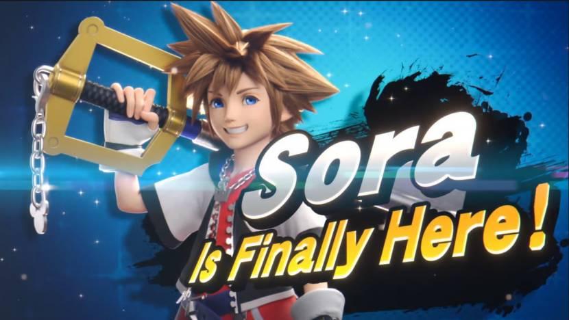 Sora is het allerlaatste Super Smash Bros. Ultimate-personage