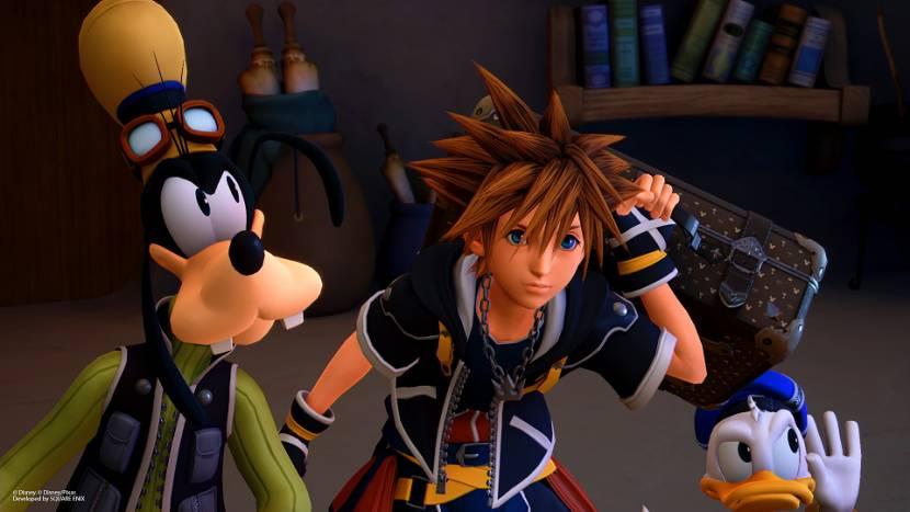 Tien Kingdom Hearts-games naar Switch via de cloud