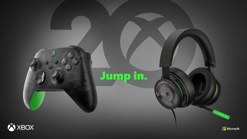 Nieuwe controller en headset voor 20e verjaardag Xbox