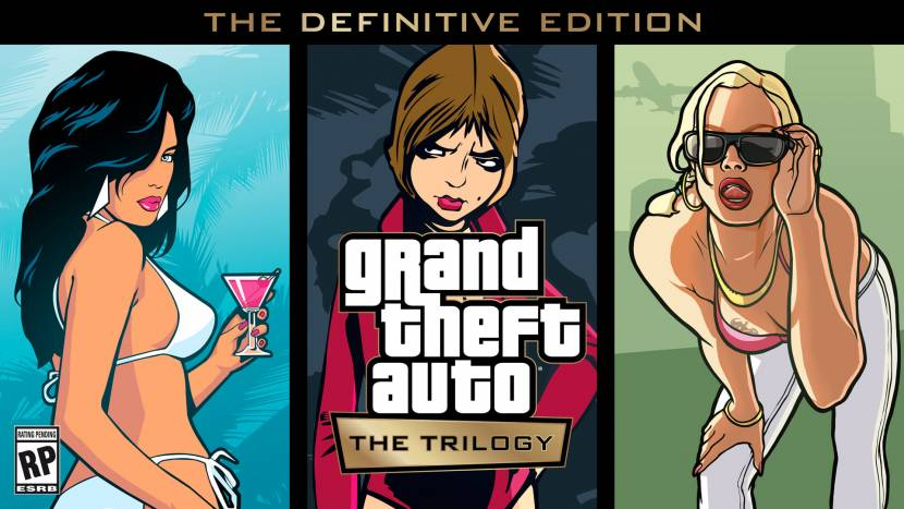 Grand Theft Auto: The Trilogy – The Definitive Edition aangekondigd