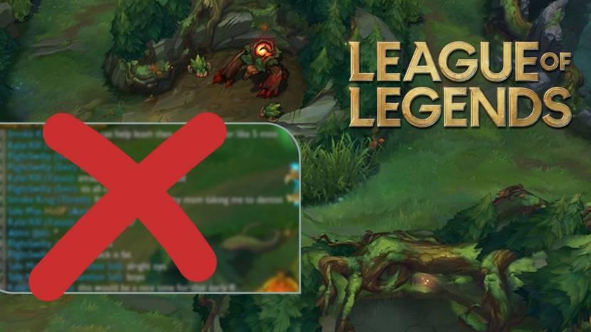 Riot Games verwijdert all chat uit League of Legends