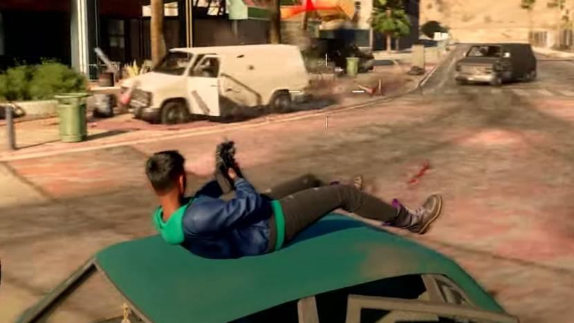 Nieuwe Saints Row toont vehicle combat gameplay