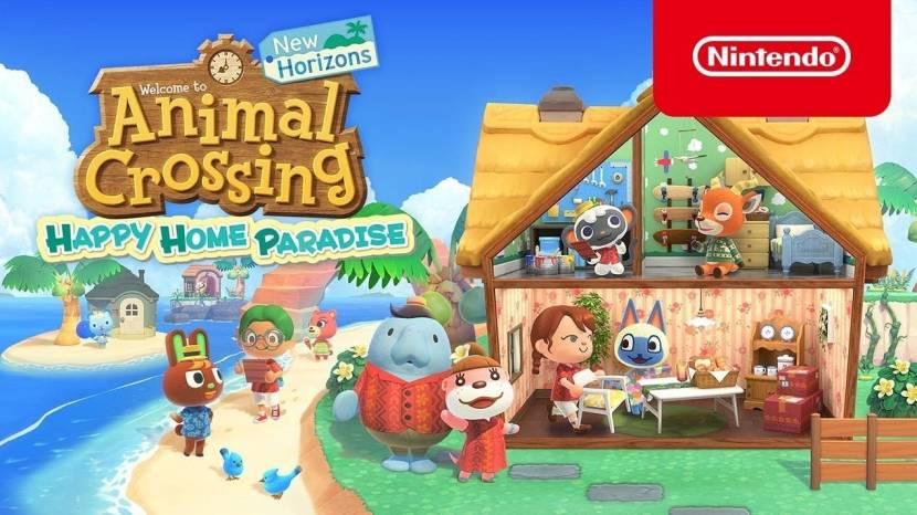 Bouw je vakantiehuis is eerste grote DLC Animal Crossing: New Horizons