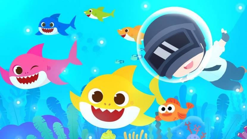 PUBG Mobile slaat handen in elkaar met ... Baby Shark