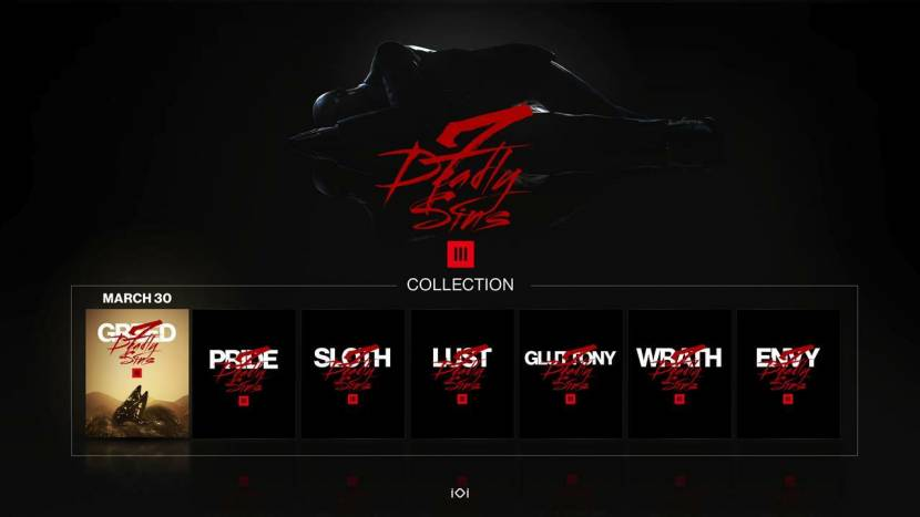Hitman 3 begint binnenkort aan 7-delige Seven Deadly Sins DLC