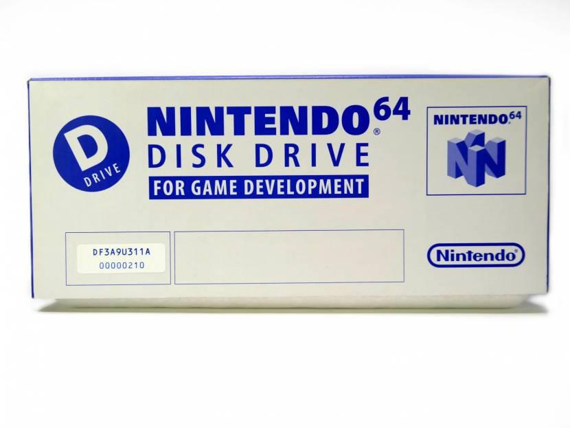 Uniek: unboxing van een Nintendo 64DD dev kit