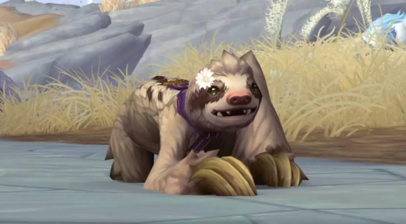 World of Warcraft spelers kunnen nu hun gratis in-game pet genaamd Bananas claimen