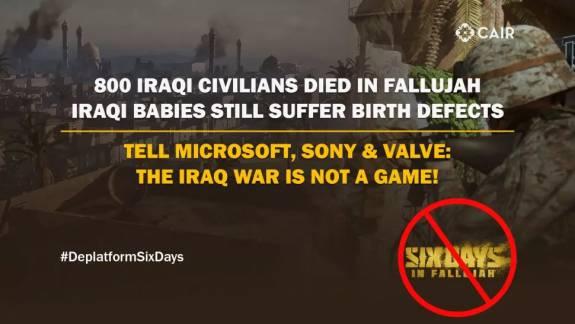 Moslimrechtengroep vraagt Sony, Microsoft en Valve om