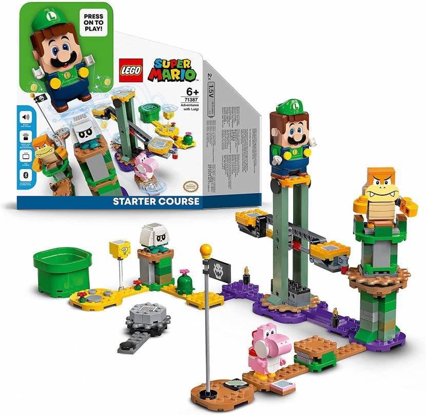 LEGO Luigi gelekt