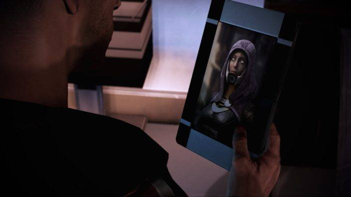 Die ene stockfoto zit niet in Mass Effect: Legendary Edition