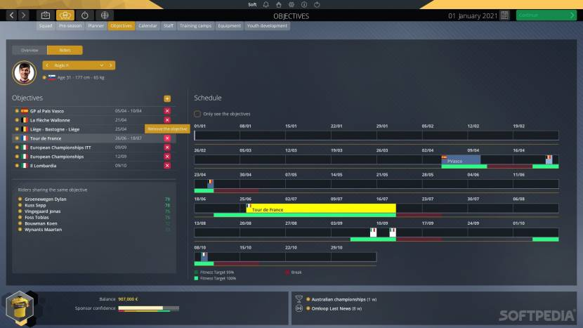 REVIEW | Pro Cycling Manager 2021 is weer dat tikje realistischer