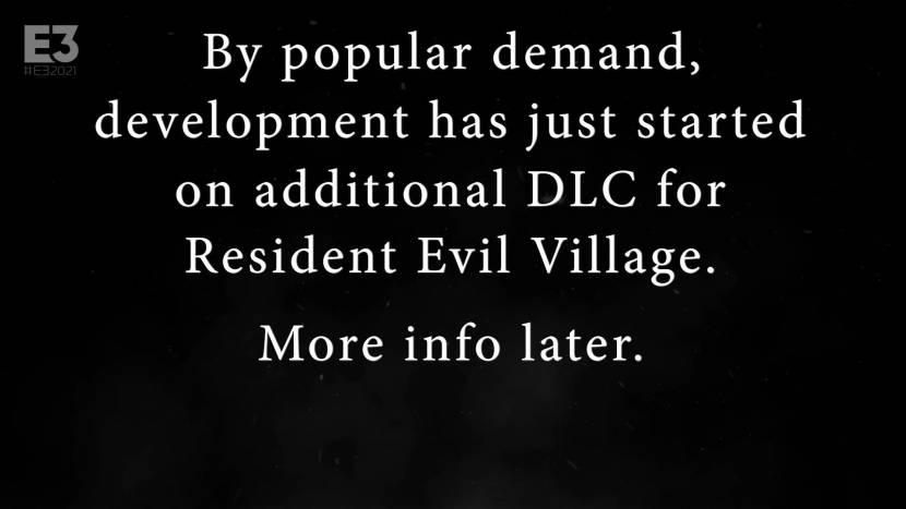 Resident Evil Village krijgt DLC, maar ...