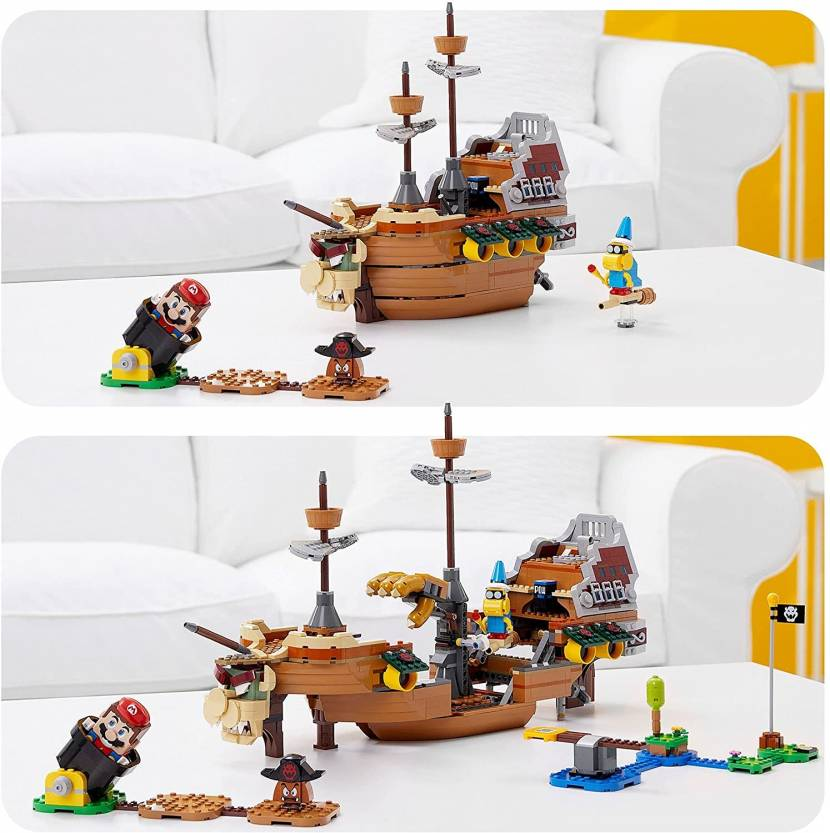 LEGO Mario lanceert binnenkort groot Bowser Airship