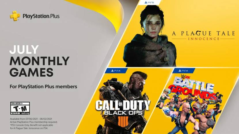 A Plague Tale: Innocence en Black Ops 4 als PlayStation Plus games voor juli