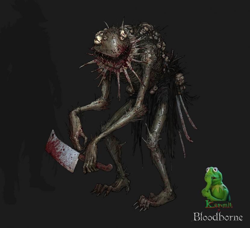 Maak kennis met Bloodborne x Sesamstraat