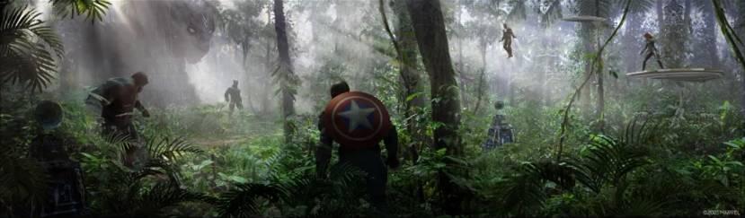 Crystal Dynamics toont concept art War for Wakanda