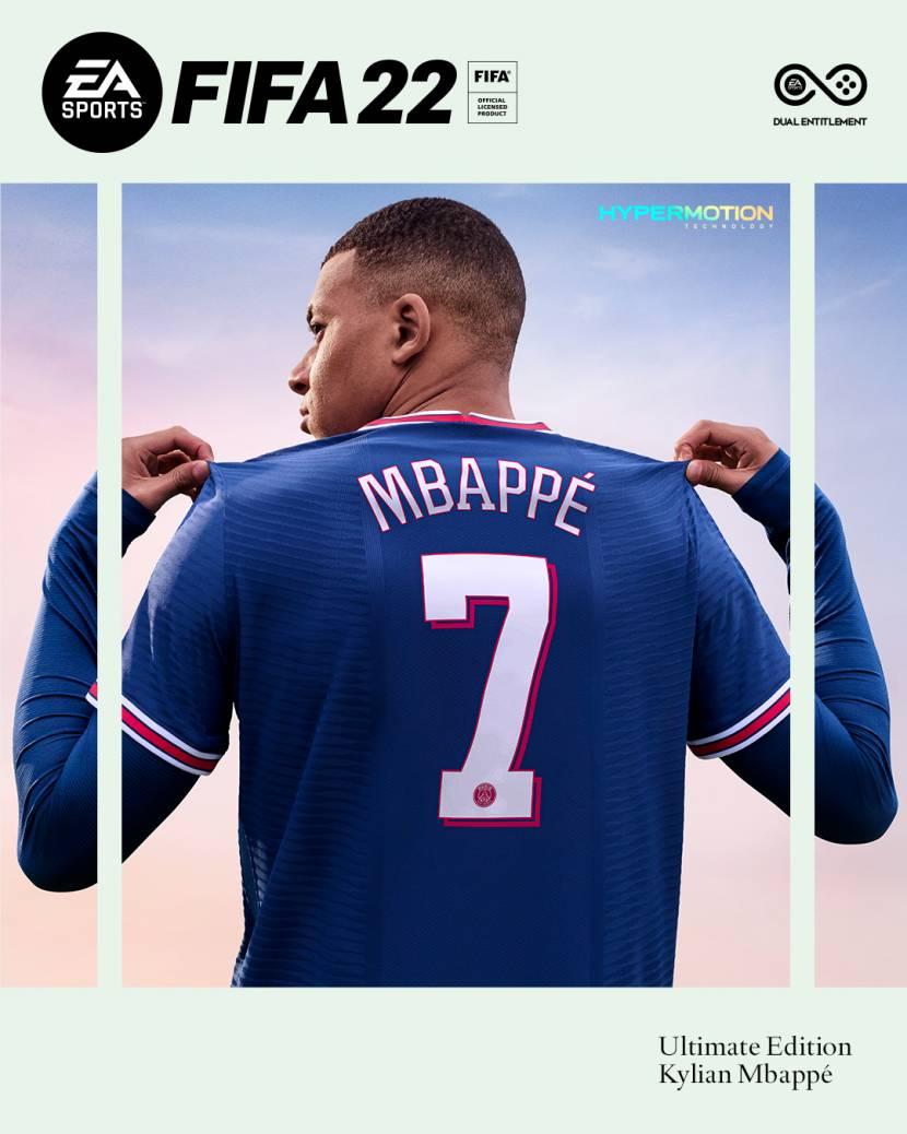 Franse superster op de cover van FIFA 22