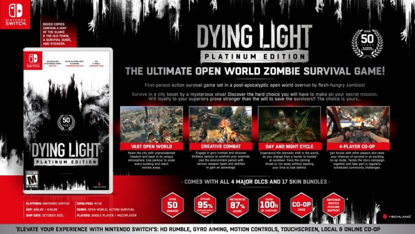 Dying Light op weg naar Nintendo Switch