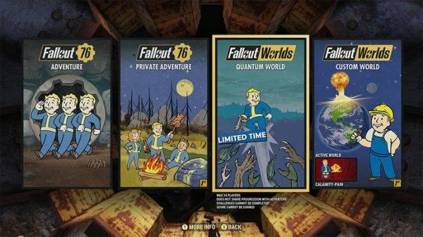 Fallout 76 krijgt custom servers, maar niet gratis