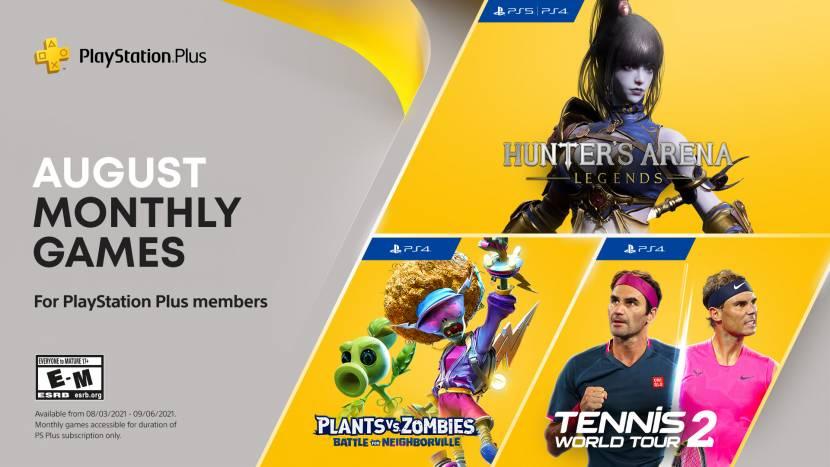 PlayStation Plus games voor augustus bekend
