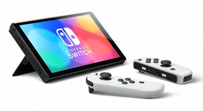 Nintendo Switch OLED-model toont Nintendo-figuren kleurrijker dan ooit