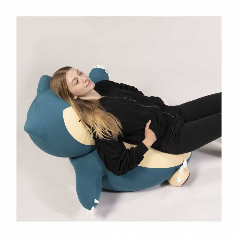 Nu koop: grote Snorlax en Ditto zitzakken