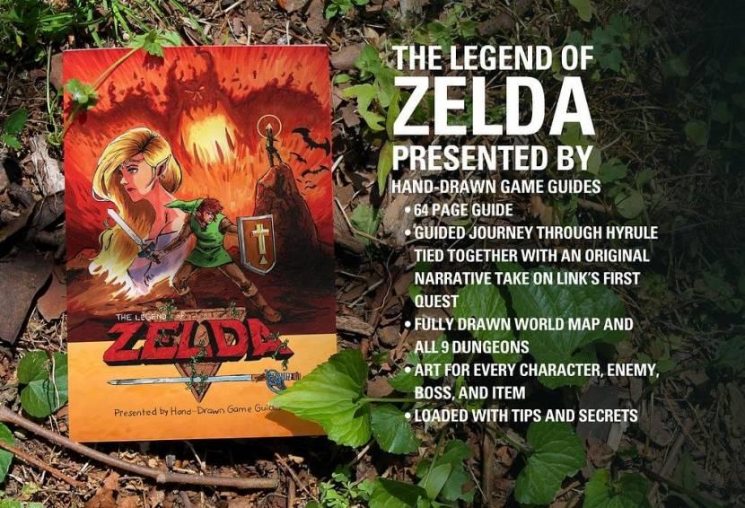 Nintendo haalt handgetekende game guides van Kickstarter