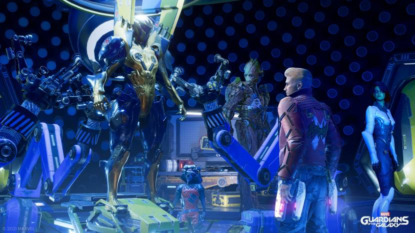 HANDS-ON PREVIEW   Marvel's Guardians of the Galaxy
