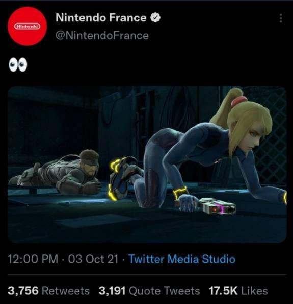 Oeps: Nintendo verwijdert sexy tweet