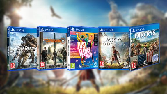 Win een Ubisoft gamepakket