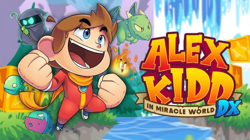 Alex Kidd in Miracle World DX is remake van klassieker