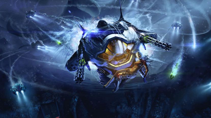 Onder water knallen in Aquanox: Deep Descent