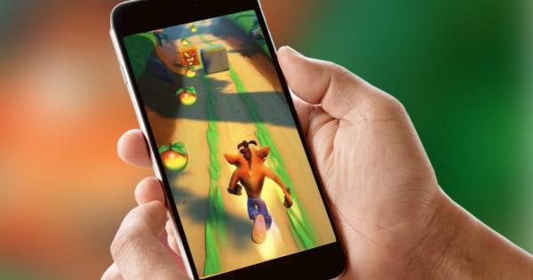 Crash Bandicoot game gelanceerd voor mobile