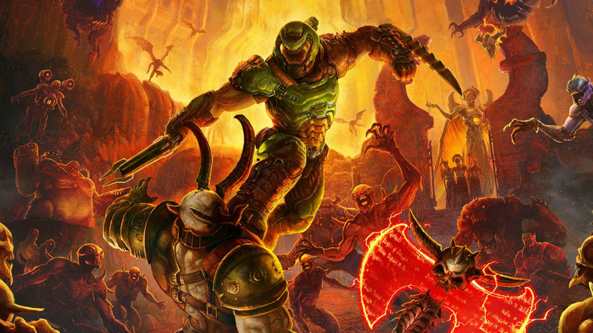 DOOM Eternal op 8 december naar NIntendo Switch