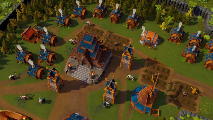 Co-op RTS DwarfHeim in early access gelanceerd