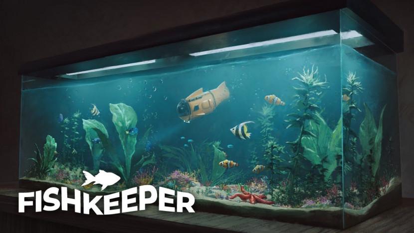 In deze game is een aquarium onderhouden de boodschap