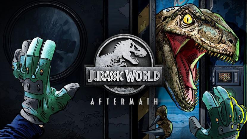 Jurassic World Aftermath laat je in VR vluchten voor Velociraptors