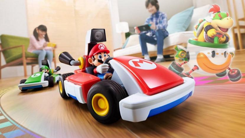 Je woonkamer wordt het circuit met Mario Kart Live: Home Circuit