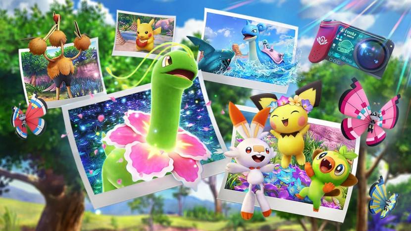 New Pokémon Snap stelt zich nog eens uitgebreid voor