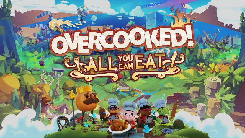 Overcooked! All You Can Eat op 23 maart naar alle platformen