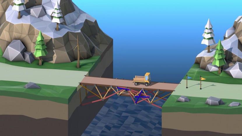 Poly Bridge 2 verschijnt eind deze maand