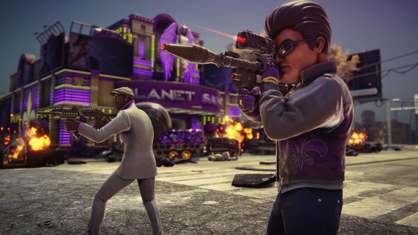 Saints Row The Third Remastered - Stijf van de actie