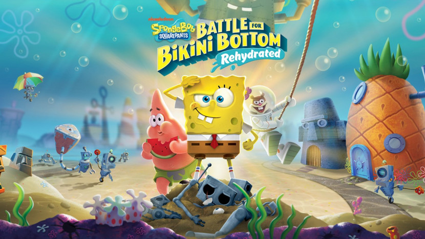 SpongeBob SquarePants: Battle for Bikini Bottom - Rehydrated toont boss fights