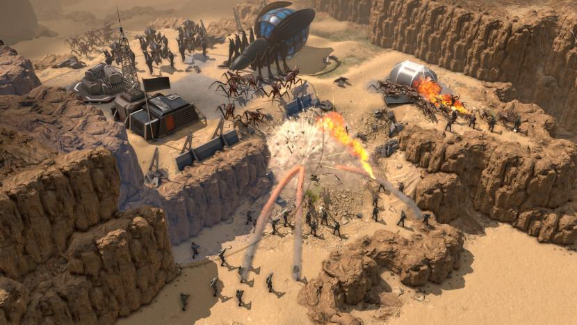 Belgische studio maakt Starship Troopers RTS-game