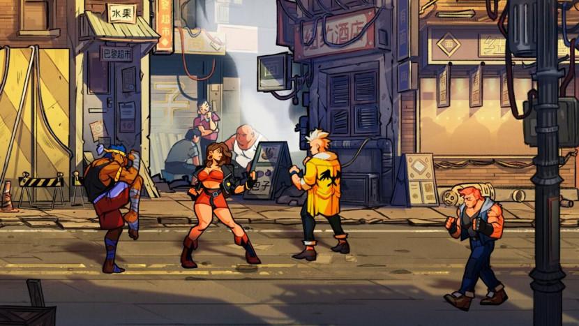 Streets of Rage 4 - geslaagde terugkeer