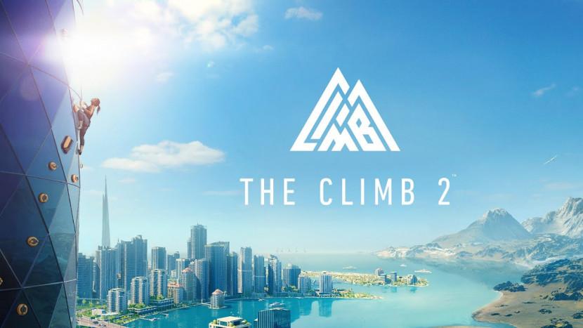 Genieten van het uitzicht in The Climb 2