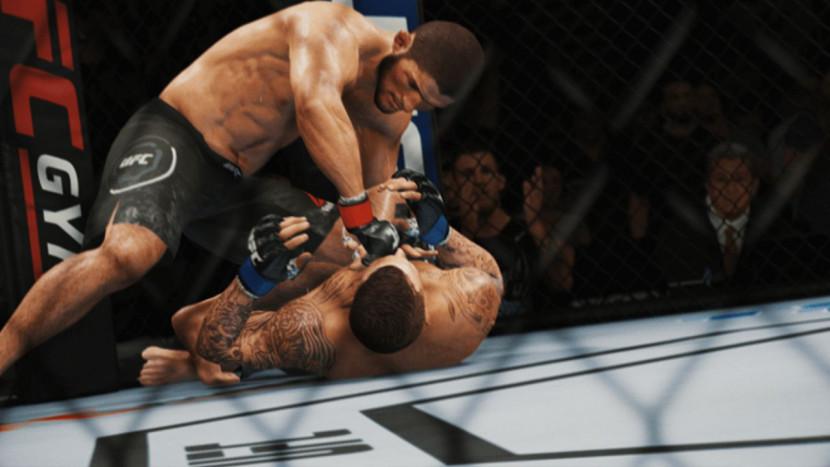 UFC 4 toont Career Mode in actie