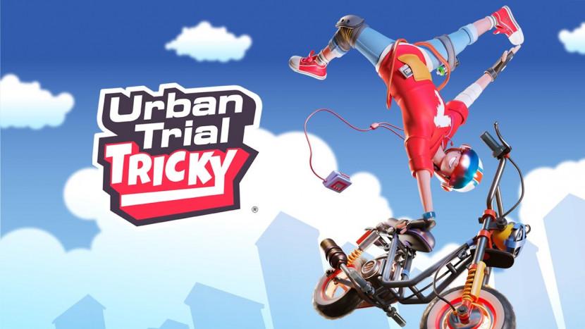 Stunten in Urban Trial Tricky voor Nintendo Switch
